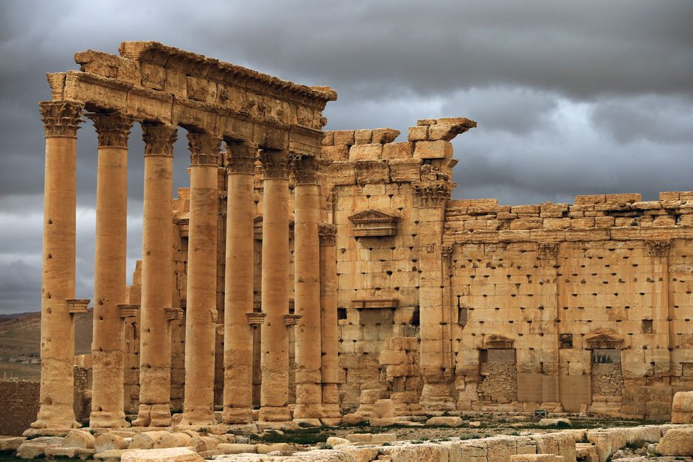 Palmyra - The Temple of Bel
