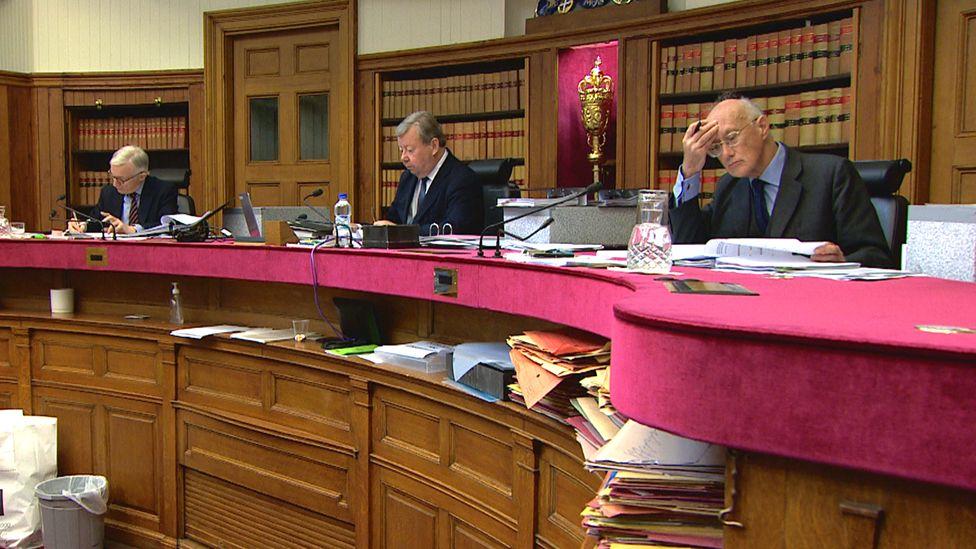 Appeal court judges