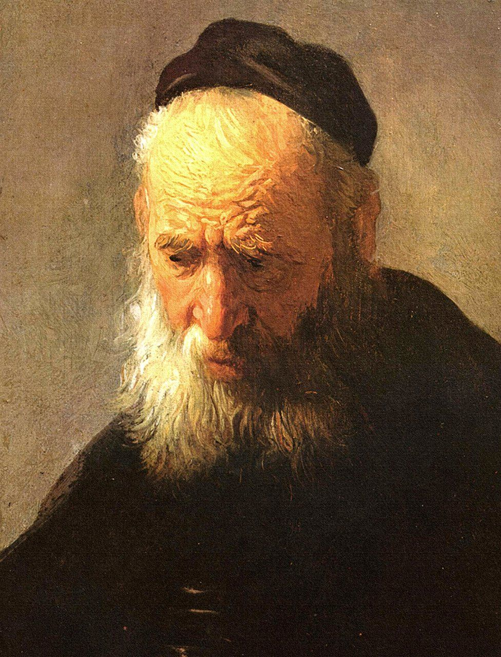 Head of an Old Man in a Cap (circa 1630) by Rembrandt