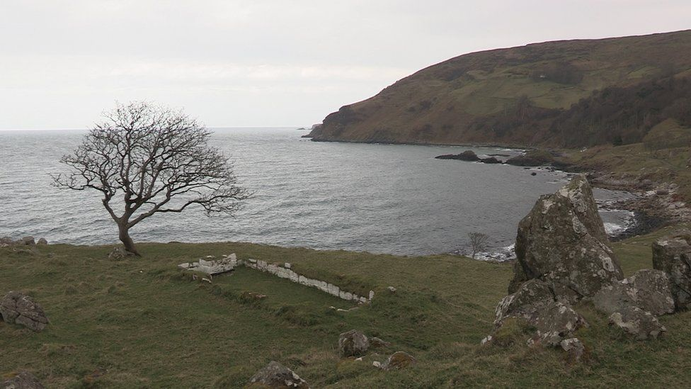 Running a cable to Murlough Bay is one of two options being considered by DP Energy