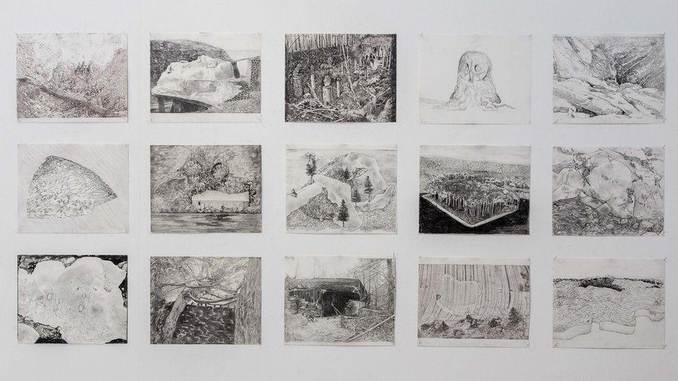 Gam Bodenhausen's drawings