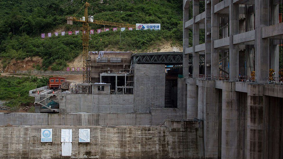 Nam Ou 2 hydroelectric project in Laos
