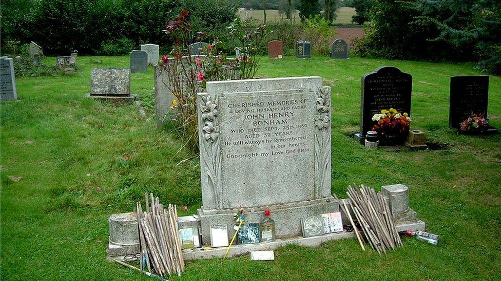 John Bonham's grave