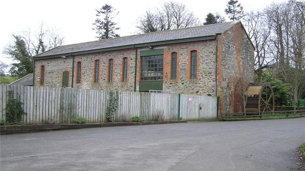 Green Lane Museum in Roe Valley Country Park, in the Largy in Limavady