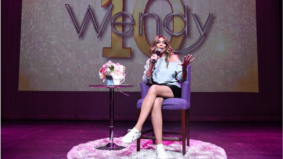 Television personality Wendy Williams speaks onstage during her celebration of 10 years of 'The Wendy Williams Show' at The Buckhead Theatre on August 16, 2018 in Atlanta, Georgia