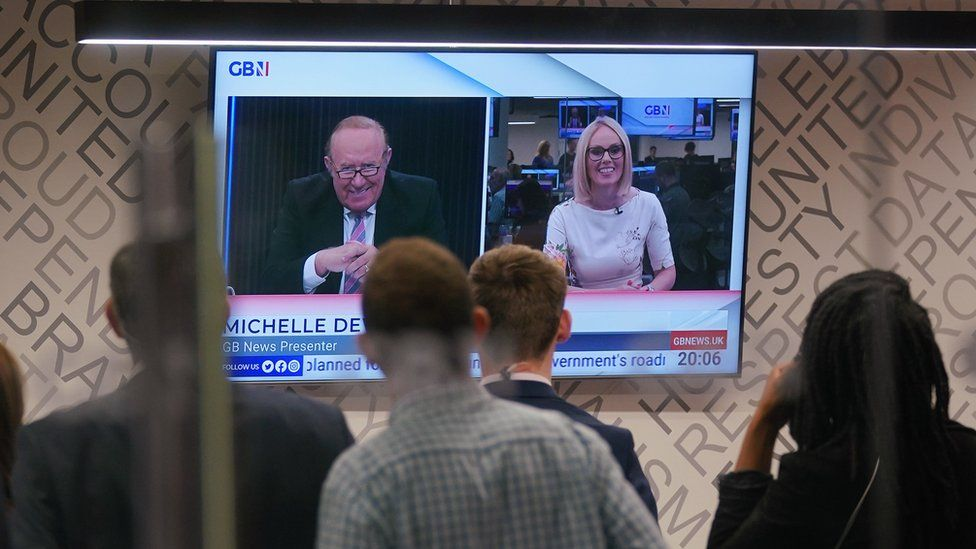 Andrew Neil and Michelle Dewberry on GB News