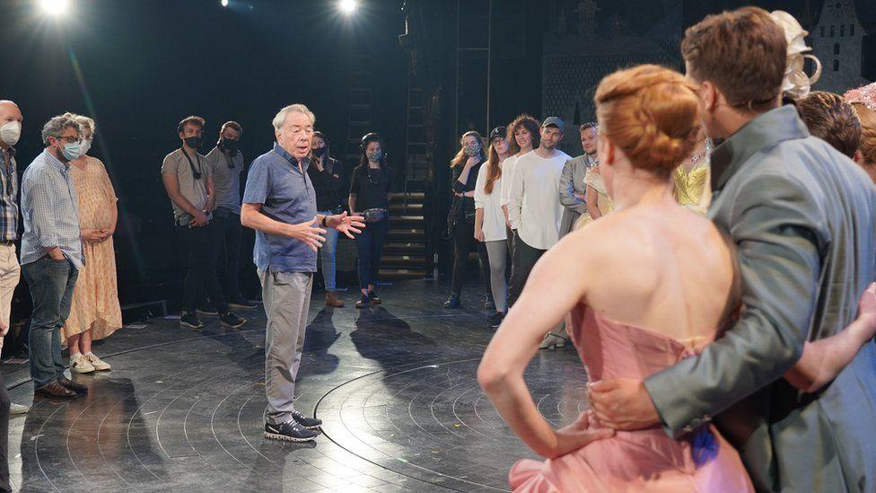 Covid isolation delays Lloyd Webber's Cinderella thumbnail