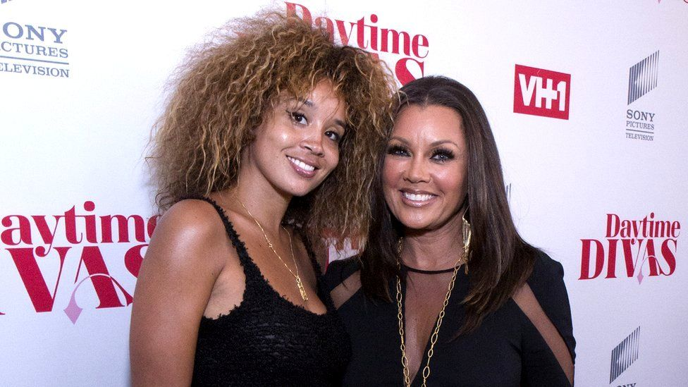 Vanessa Williams pictured with Jillian Hervey of Lion Babe