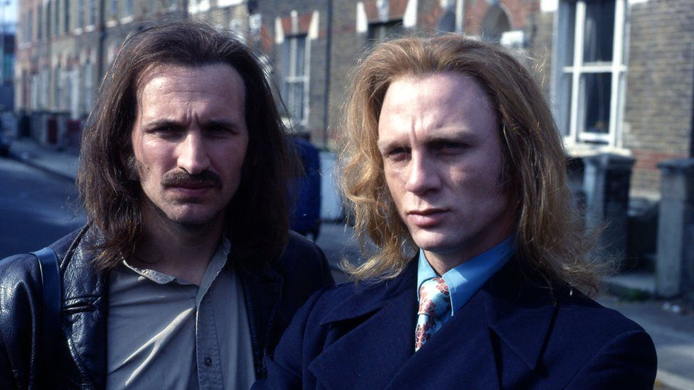 Christopher Eccleston and Daniel Craig in Our Friends in the North