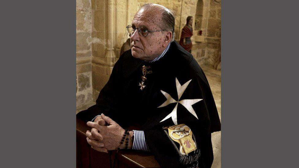 Брат Джон Критьен - последний настоящий рыцарь на Мальте, соблюдающий обеты бедности, целомудрия и послушания Мальта Мальта  104675115 maltacritien