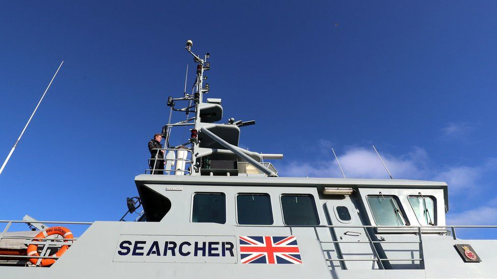 Eight migrants in 'small boat' picked up in Channel