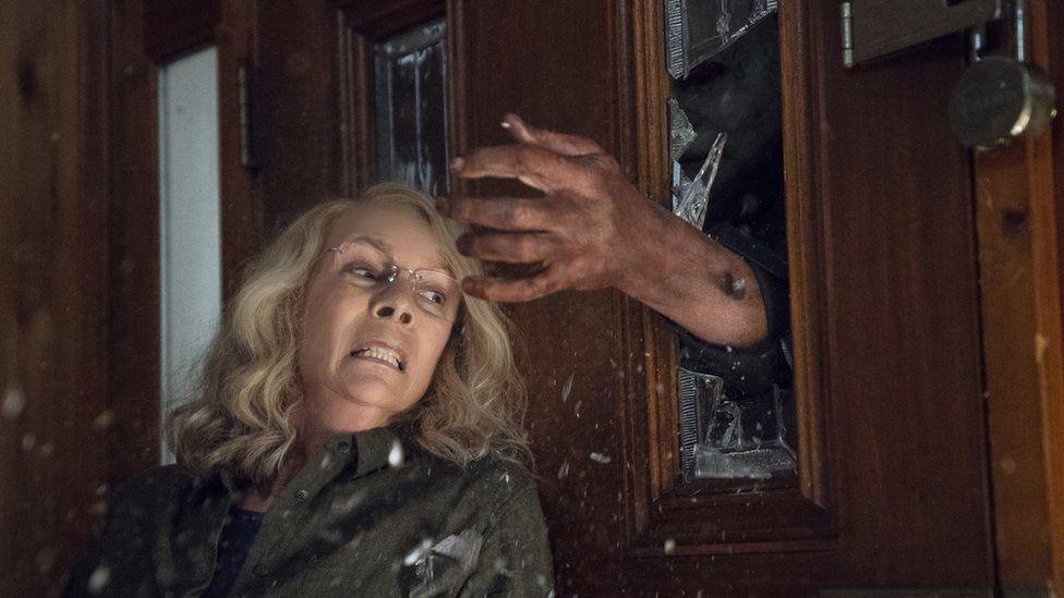 Halloween (2018) - Jamie Lee Curtis, 59, makes a return in Halloween (2018)