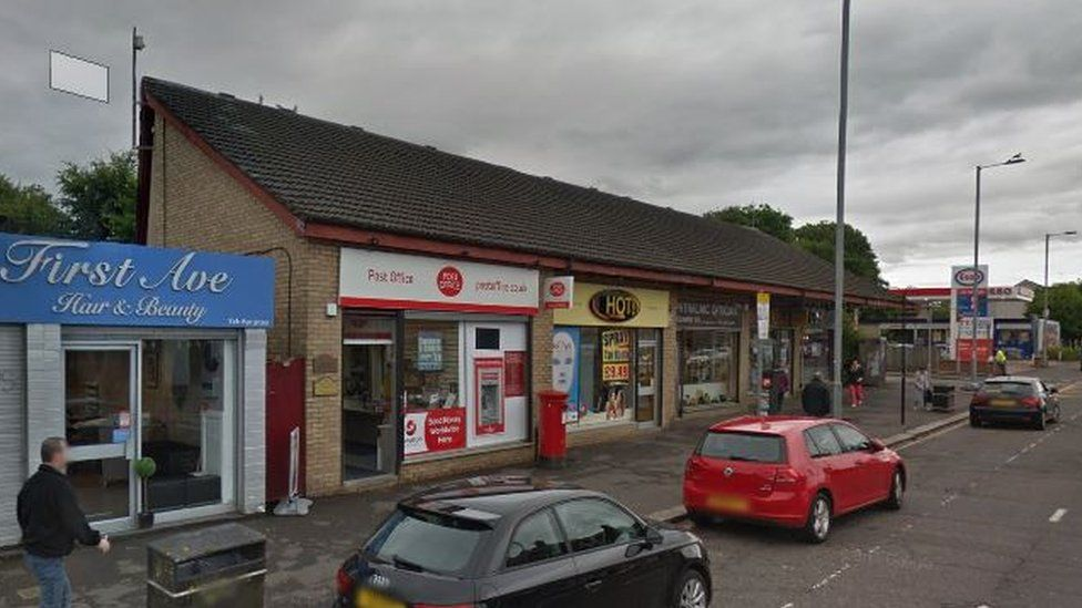 Post Office on Paisley Road West