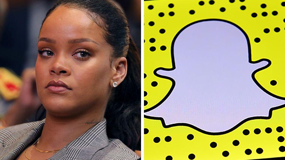 Rihanna Snapchat