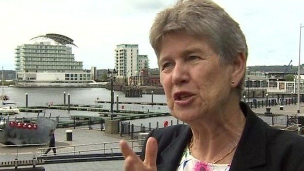 Deputy Minister Jane Hutt