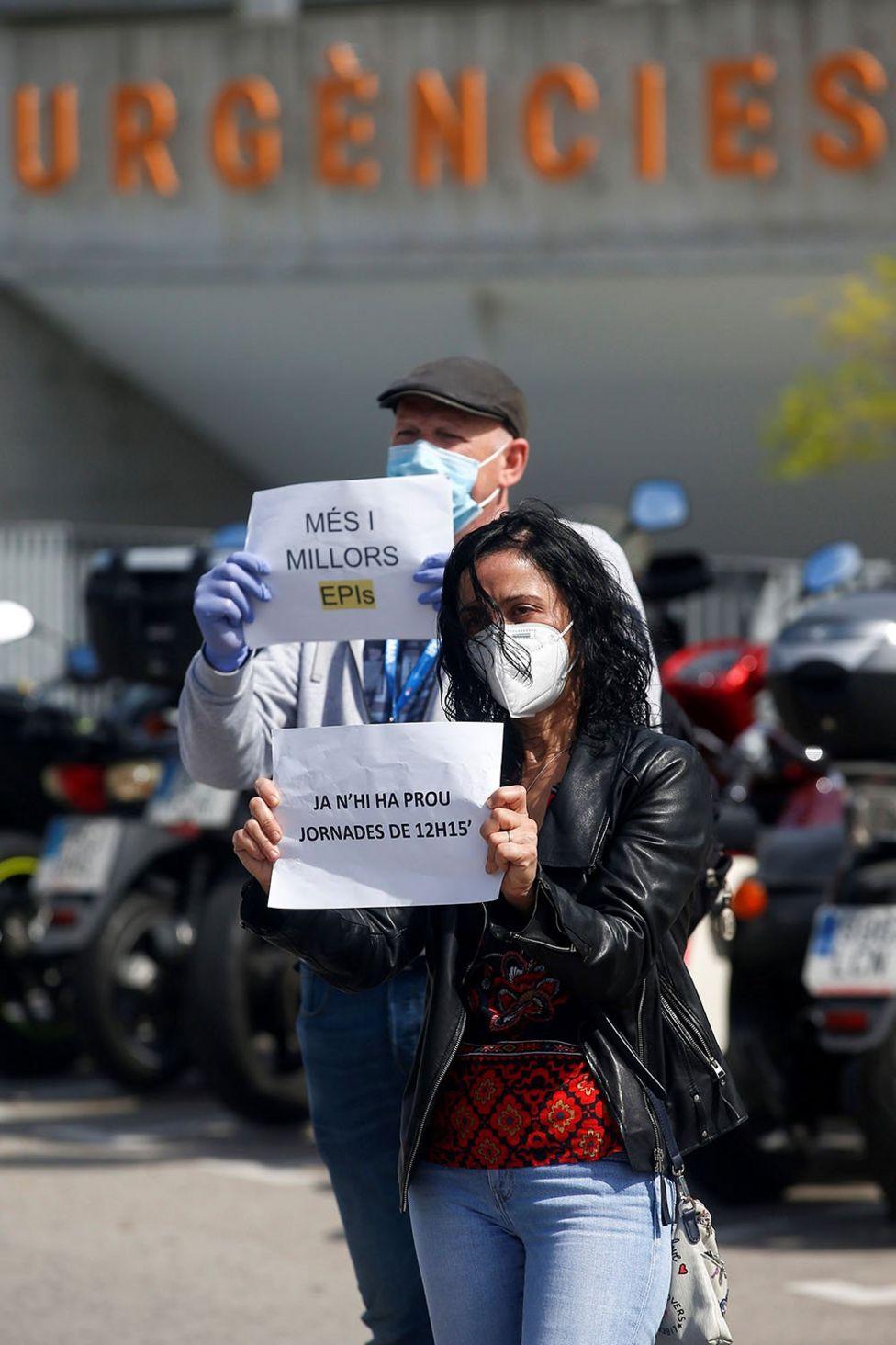 Protest in Span