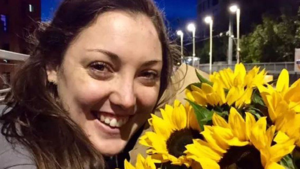 Kirsty Boden who has been named as one of the victims in Saturday's London Bridge terrorist attack