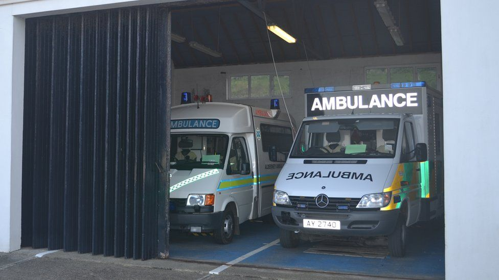 Alderney Ambulance Service station