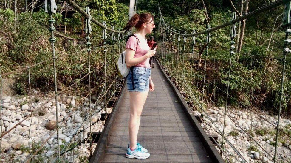 Gemma on holiday