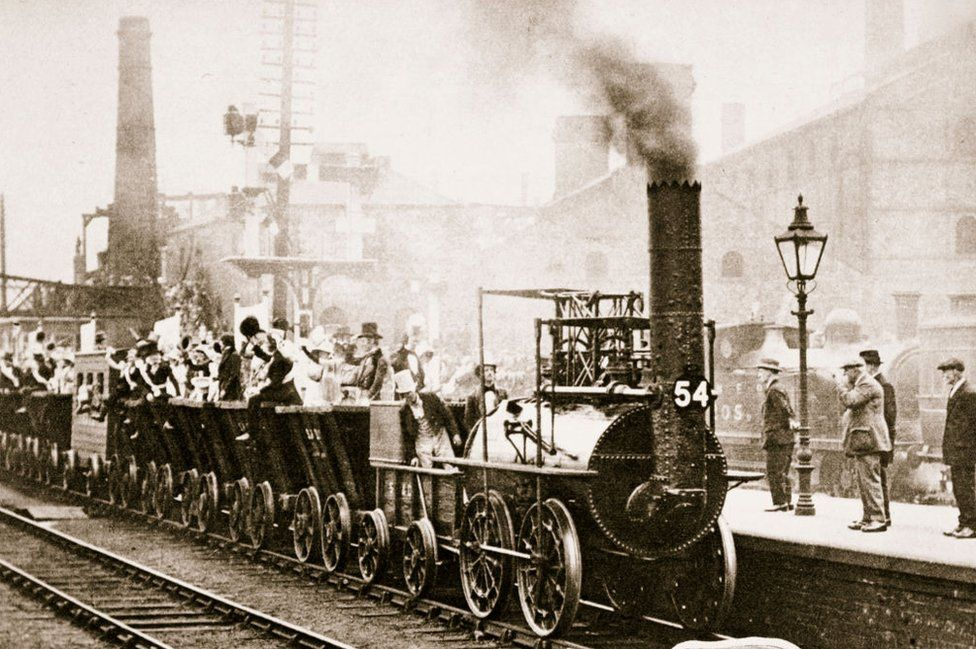Reenacment of first journey in 1925