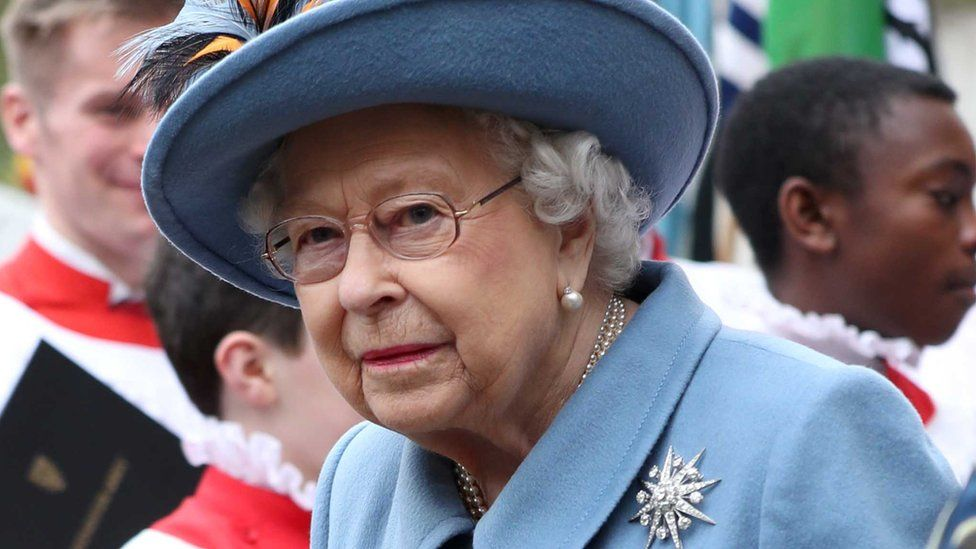 Queen Elizabeth II at the Commonwealth Service at Westminster Abbey, London, as Buckingham Palace has announced that the Queen has recorded a special broadcast on the coronavirus outbreak to be broadcast on Sunday