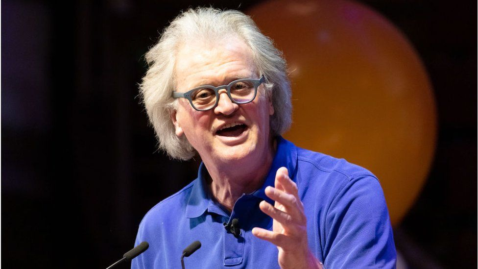 Tim Martin, boss of Wetherspoons