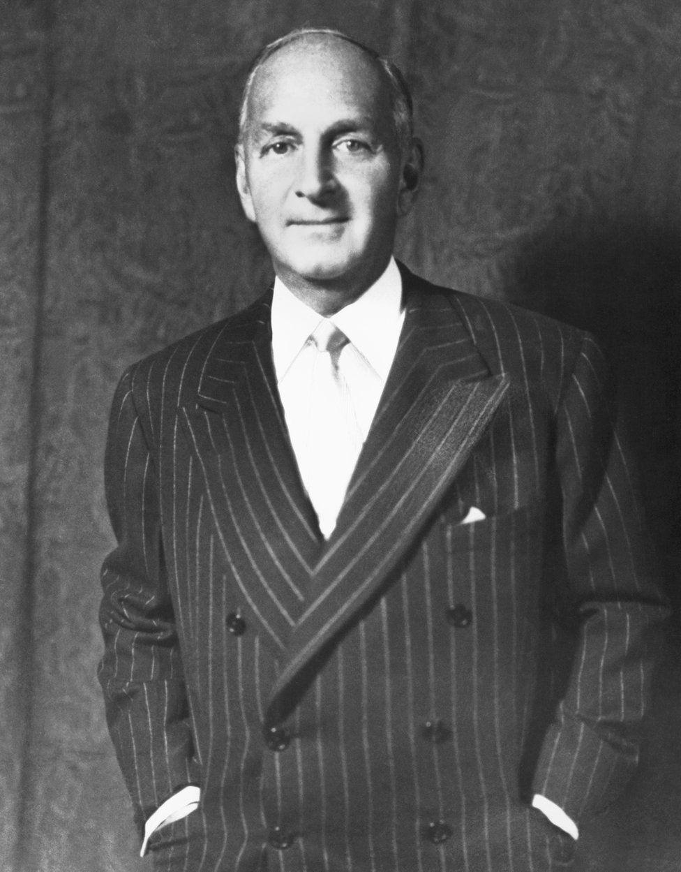 "Robert ""Bobbie"" Lehman (circa 1946), who was the last Lehman to run the company"