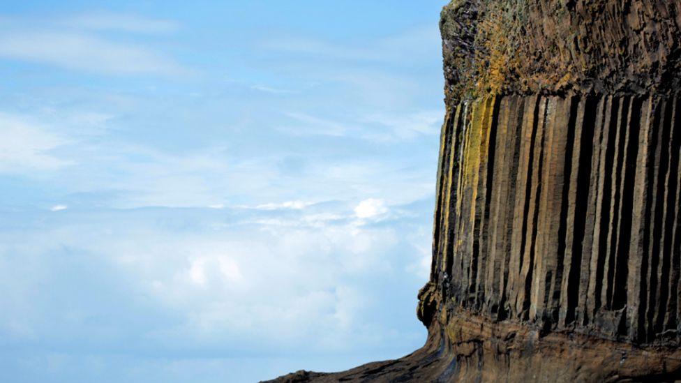 Rock formations on Staffa