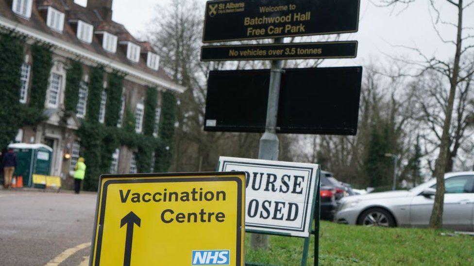 Batchwood vaccination centre