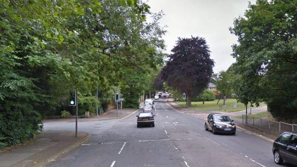 Junction of Wellingborough Road, Norman Road and Abington Park Crescent in Northampton