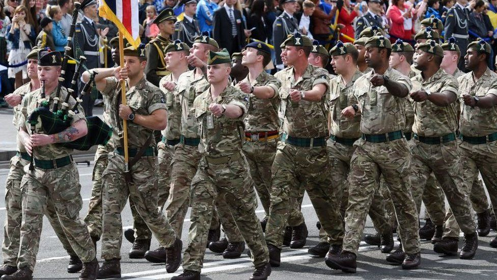 Army recruitment system 'unacceptable', says defence secretary - BBC