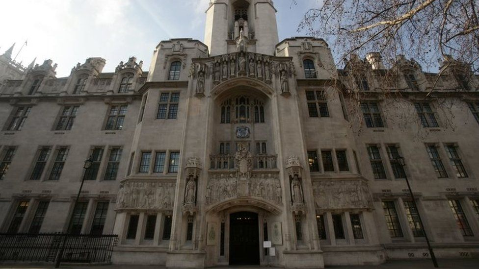 The UK's supreme court in London