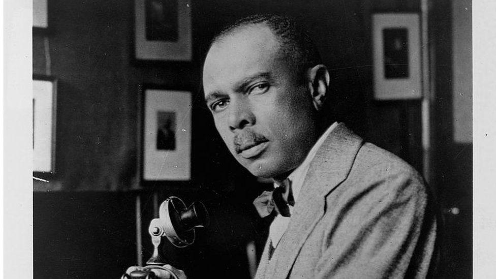 American writer and educator James Weldon Johnson (1871-1938), circa 1925