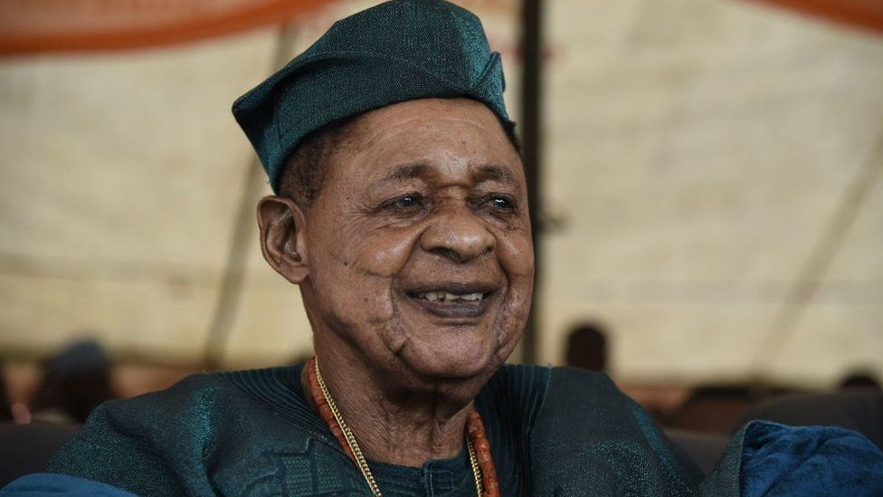 The Alaafin of Oyo