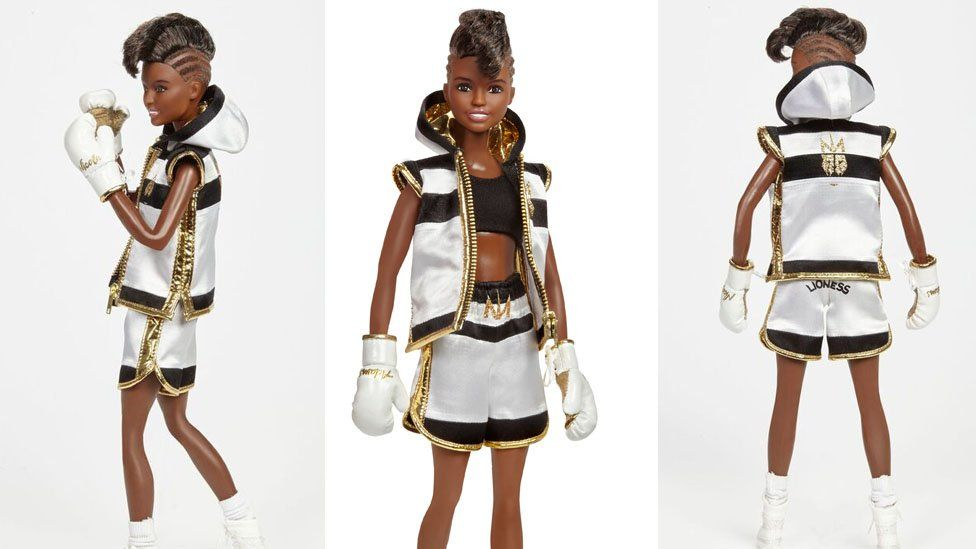Nicola Adams Barbie doll