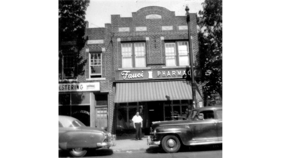 Photo of Fauci family pharmacy in Brooklyn