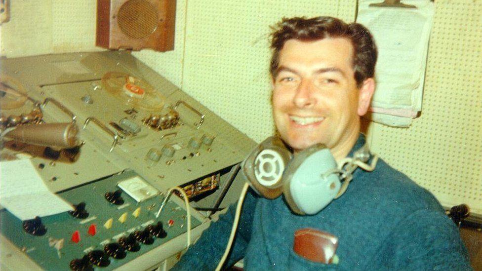 DJ Jimmy Mack in the studio