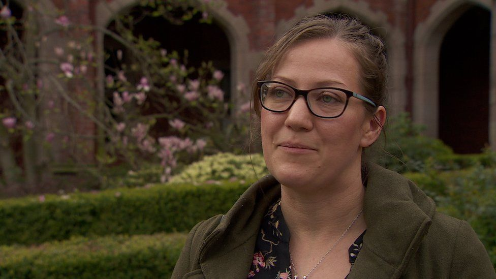 Emily Hunter of Nature Matters NI is campaigning for a Green Brexit