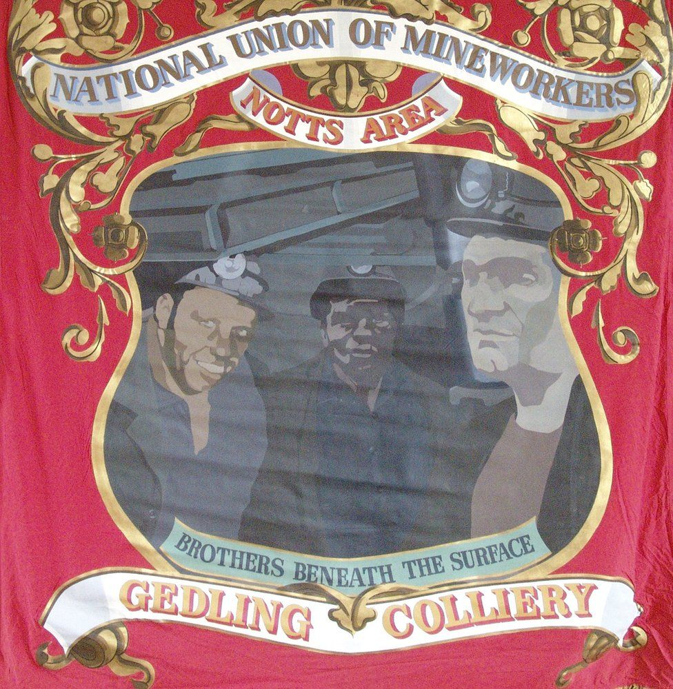 Gedling Colliery banner