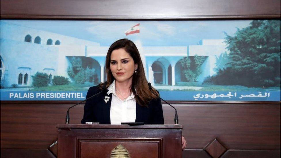 Manal Abdel Samad quit as information minister following the devastating blast in Beirut