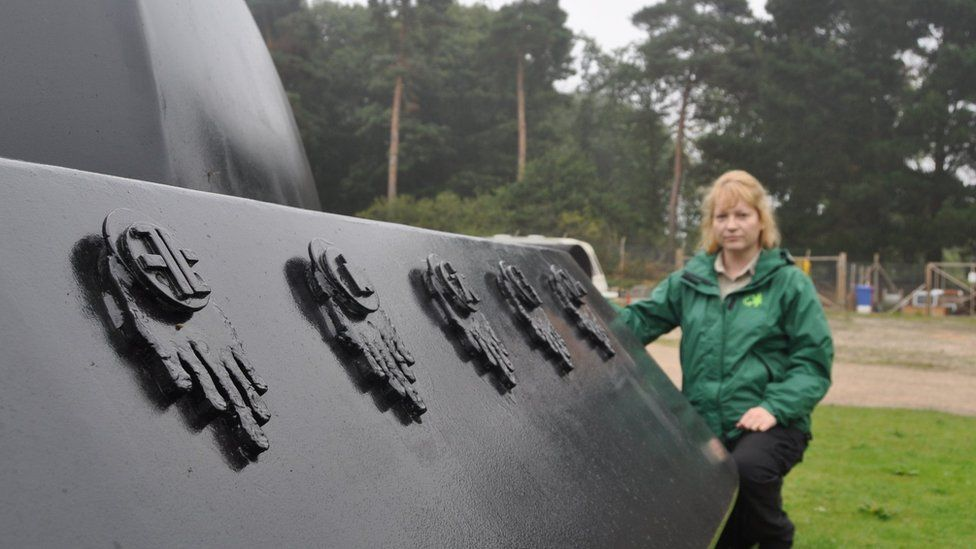 Rendlesham UFO sculpture/model