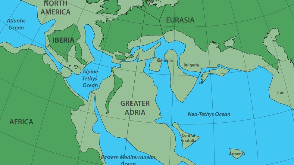 Cientistas encontram vestígios de Grande Adria, continente perdido escondido sob a Europa