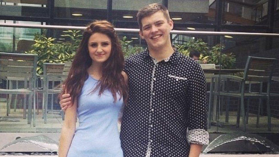 Aggie and her boyfriend Ryan
