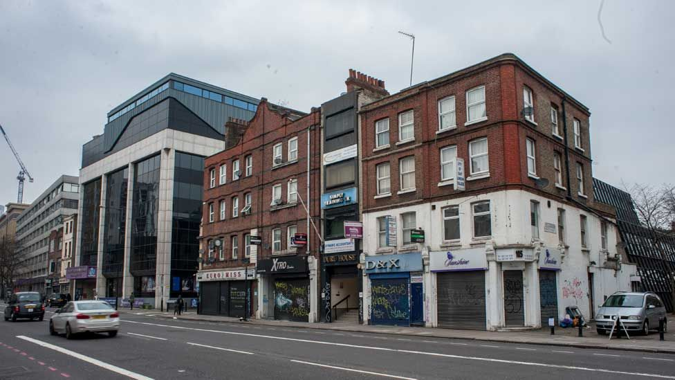 The block on Commercial Road where Ofsted inspected