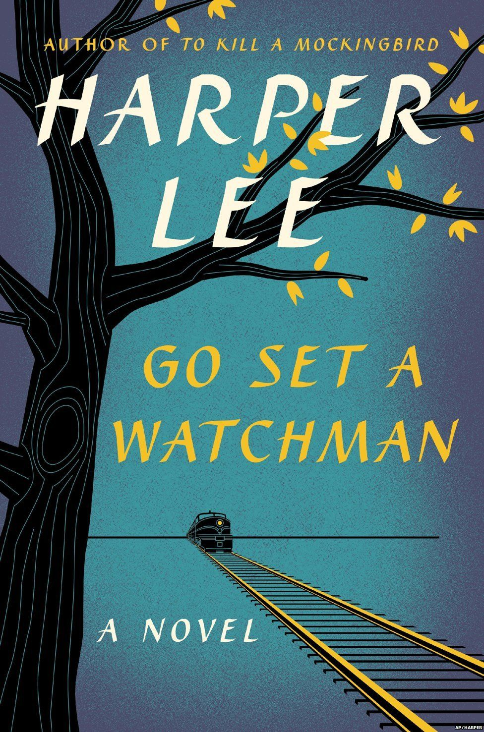 The cover of Harper Lee's novel Go Set a Watchman