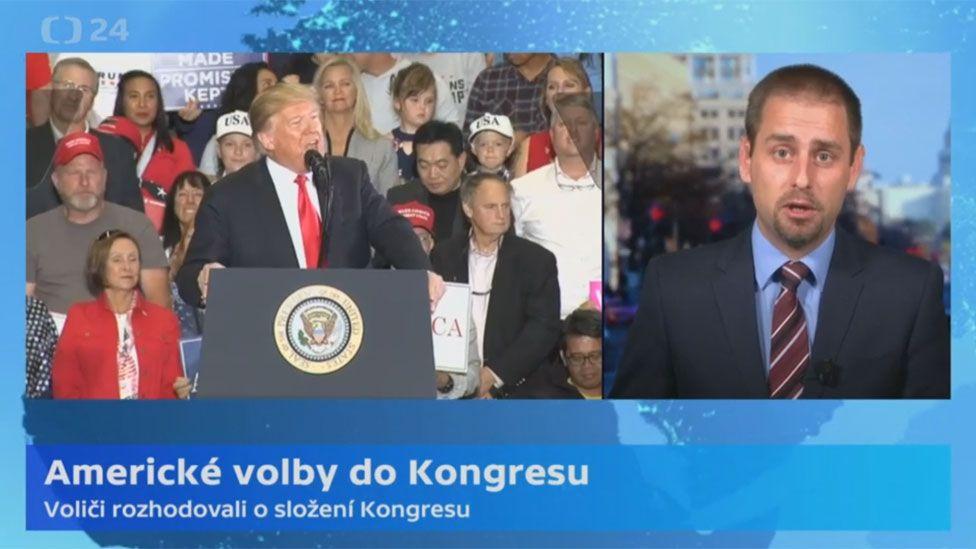 Screengrab from Czech TV