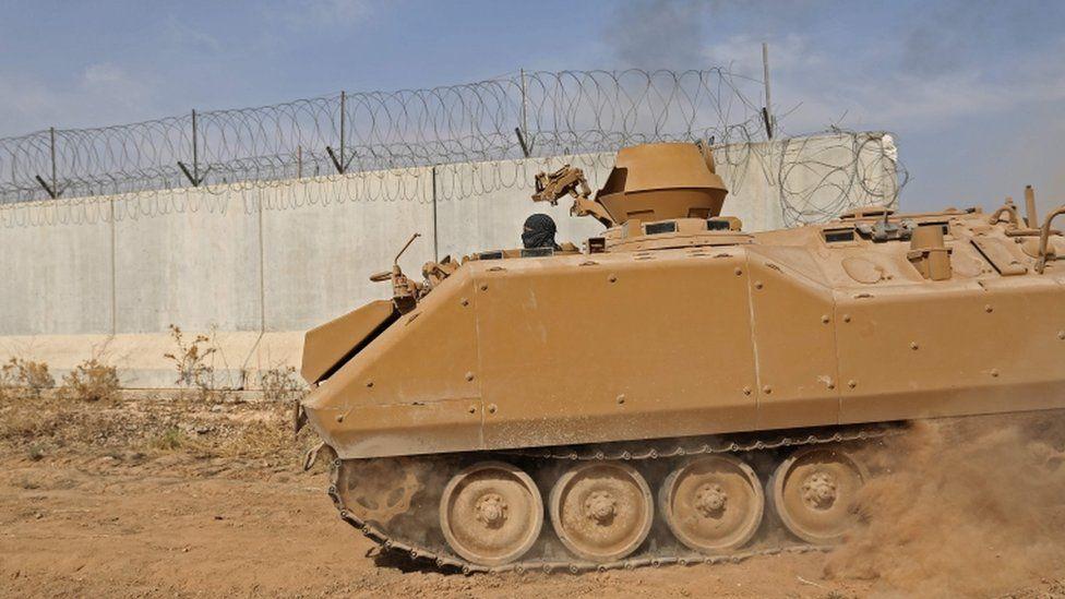 Pro-Turkish Syrian fighters advance into Kurdish-held territory
