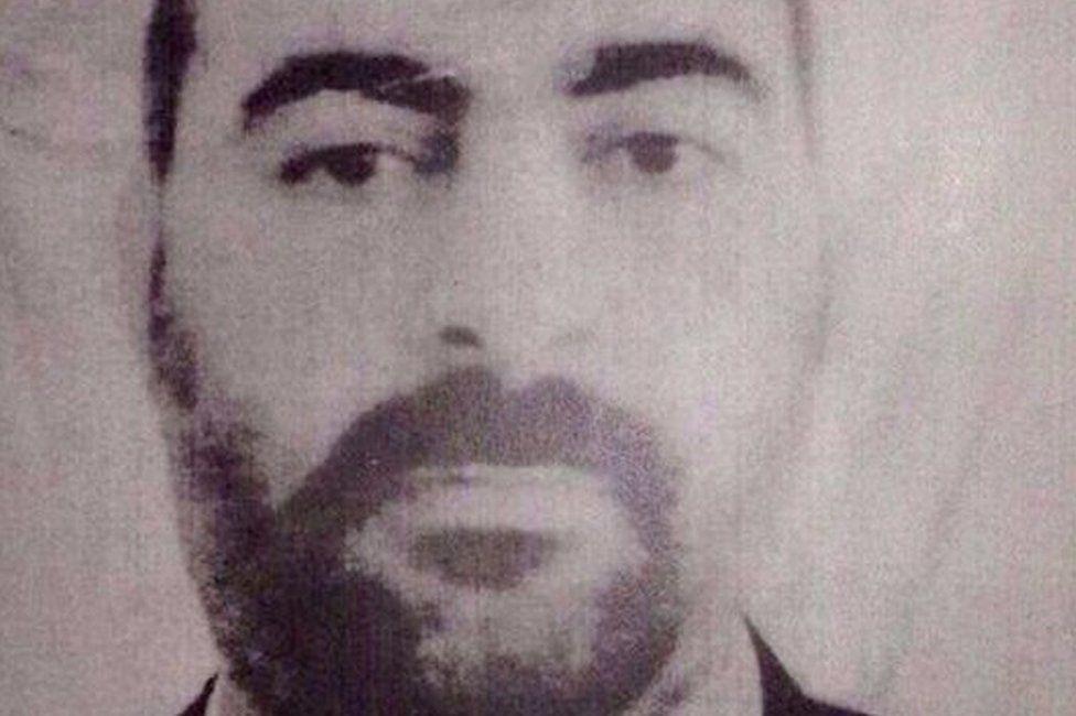 Abu Bakr al-Baghdadi (file photo)