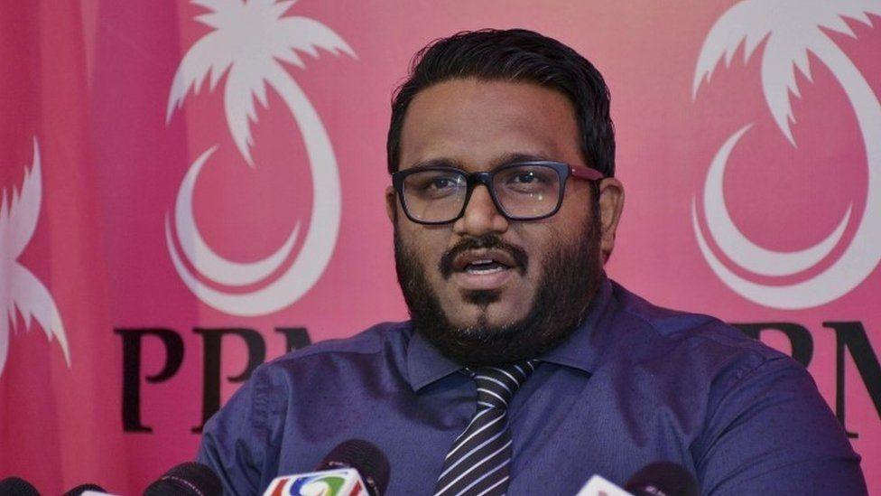 Maldives Vice President Ahmed Adeeb (7 October 2015)