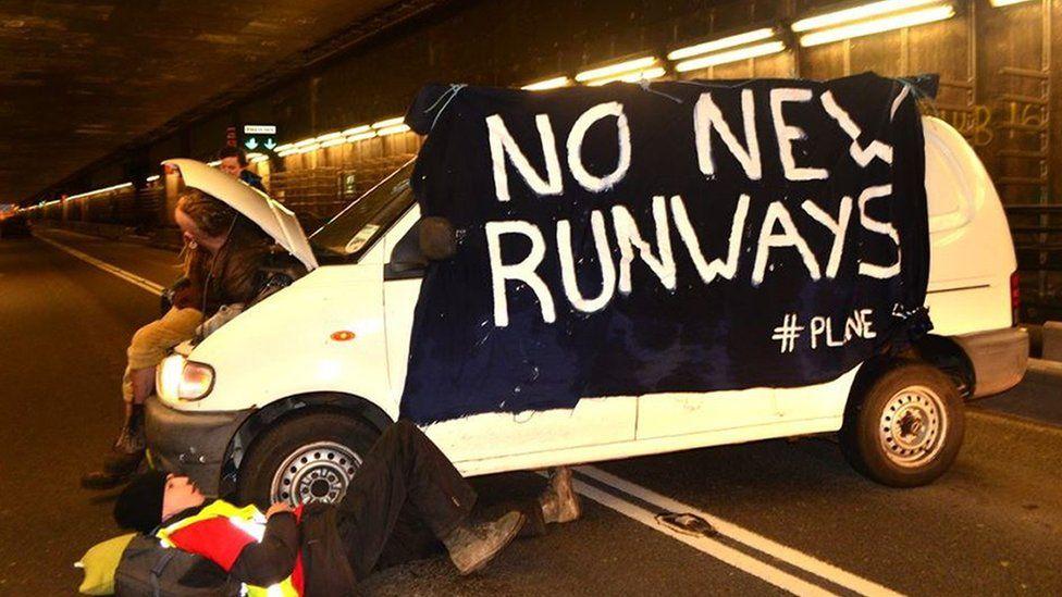 Plane Stupid protesters